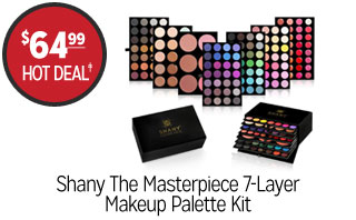 Shany The Masterpiece 7-Layer Makeup Palette Kit - $64.99 - HOT DEAL‡