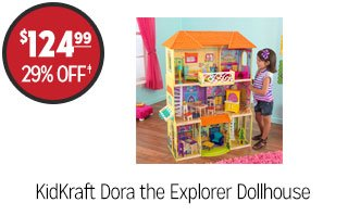 KidKraft Dora the Explorer Dollhouse - $124.99 - 29% off‡