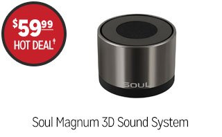 Soul Magnum 3D Sound System - $59.99 - HOT DEAL‡