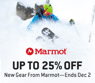 Up to 25% Off Marmot—Ends Today