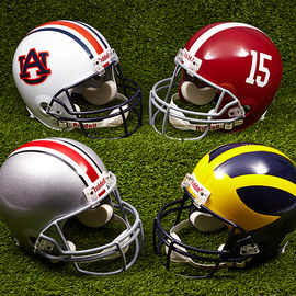 Football Parade: NCAA Apparel & Gear