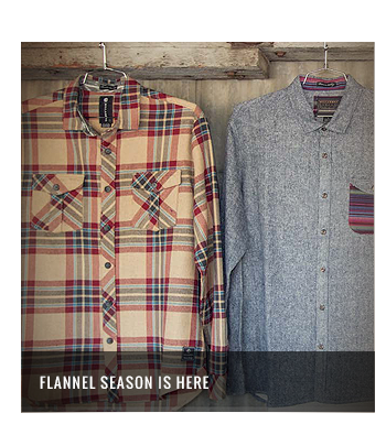 Flannel Season is here