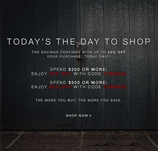 Shop Cyber Monday Now!