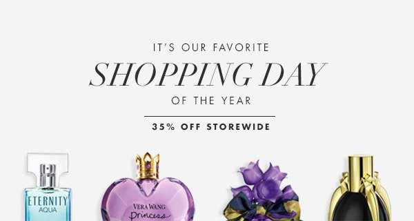 It's Finally here - 35% OFF SITE WIDE today only!