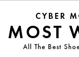 Cyber Monday - Most Wanted.
