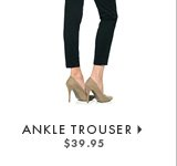 Cropped Trouser - $39.95