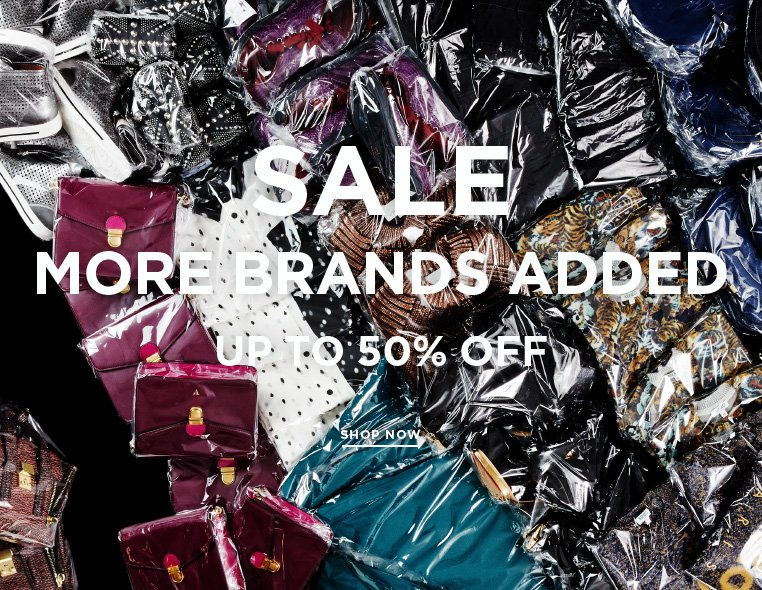 Special Offers Inside: Up to 50% off + Free shipping ends tonight Free shipping ends tonight + More brands marked down at up to 50% off