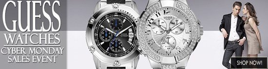 Cyber Monday Celebration: Save big on Guess watches!
