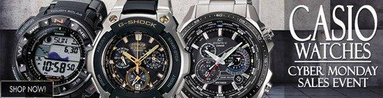 Cyber Monday Celebration: Save big on Casio watches!