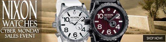 Cyber Monday Celebration: Save big on Nixon watches!