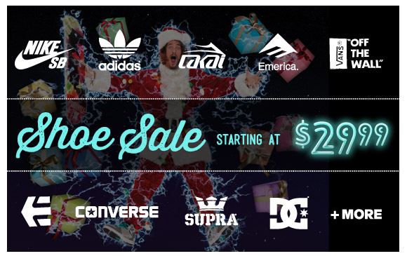 Shoe Sale: Starting at $29.99!