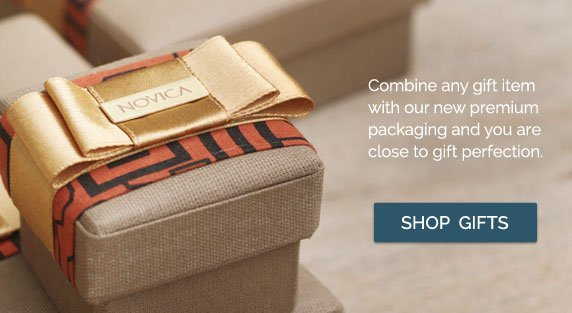Combine any gift item with our new premium packaging and you are close to gift perfection - Shop Gifts