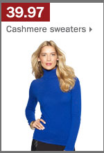 39.97 cashmere sweaters.