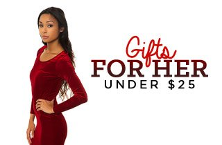 Holiday Shops: Gifts for Her Under $25