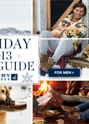 HOLIDAY GIFT GUIDE | MEN'S >