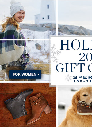 HOLIDAY GIFT GUIDE | WOMEN'S >