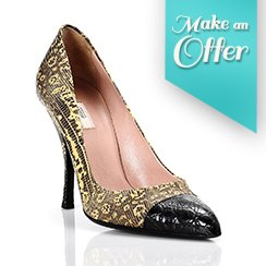 Make An Offer Sales!: Women's Designer Heel
