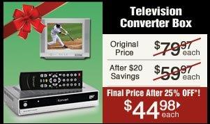 Television Converter Box