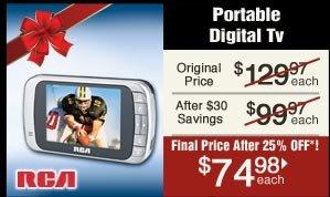 Portable Digital TV