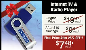 Internet TV and Radio Player