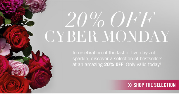 Cyber Monday selection at an amazing 20 percent OFF