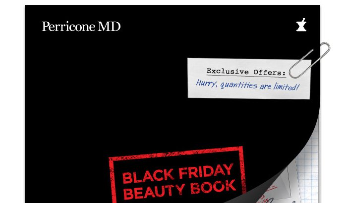 Black Friday Beauty Book
