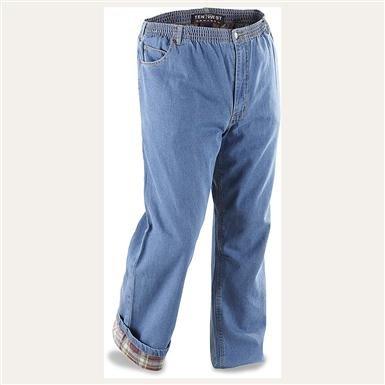 Men's Ten West® Flannel-lined Jeans