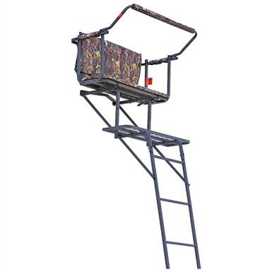 Guide Gear® Deluxe 16' 2-man Ladder Tree Stand