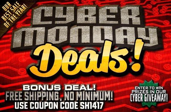 Cyber Monday Deals!