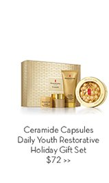 Ceramide Capsules Daily Youth Restorative Holiday Gift Set $72.