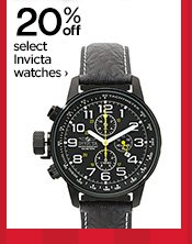 20% off select Invicta watches ›