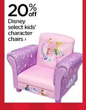 20% off Disney select kids' character chairs ›