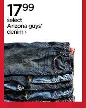 17.99 select Arizona guys' denim ›