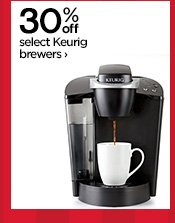30% off select Keurig brewers ›