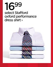 16.99 select Stafford oxford performance dress shirt ›