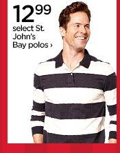 12.99 select St. John's Bay polos ›