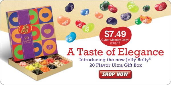 New Jelly Belly® 20-Flavor Ultra Gift Box!
