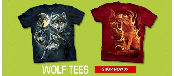 WOLF TEES: Shop now