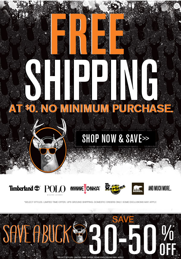 Cyber Monday Deals + Free Shipping on Everything