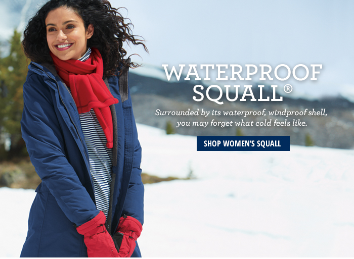 Waterproof Squall