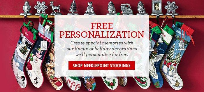 Shop Needlepoint Stockings