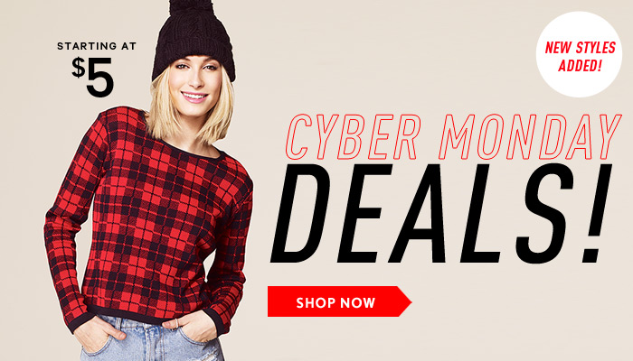 Cyber Monday Deals Shop!