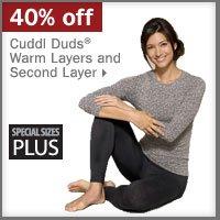 40% off Cuddl Duds®.
