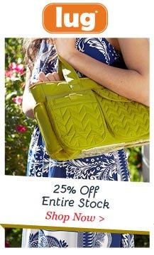 Shop Lug 25% Off