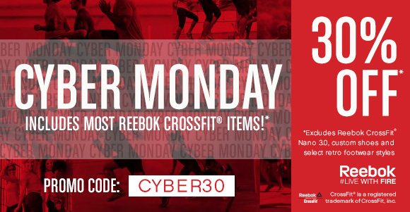 CYBER MONDAY 30% OFF PROMO CODE CYBER30