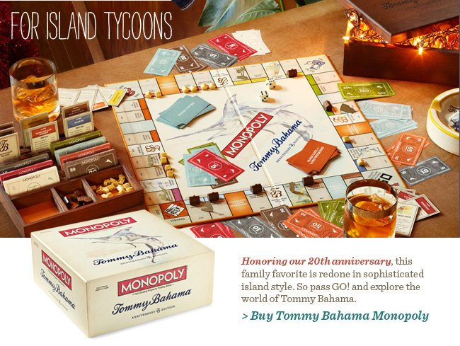 Buy Tommy Bahama Monopoly