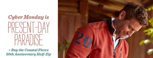 Buy the Coastal Fleece 20th Anniversary Half-Zip