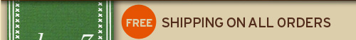FREE shipping on orders of 50 dollars DAY 1