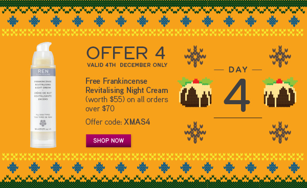 Free Frankincense Revitalising Night Cream*