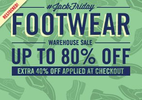 Shop JackFriday Warehouse Sale: Footwear